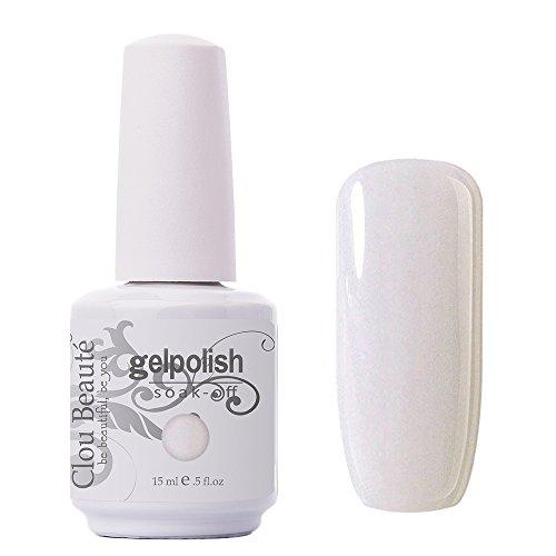 Clou Beaute Gelpolish 15ml Soak Off UV Led Gel Polish Lacquer Nail Art Manicure Varnish Color Light Nude Cream 1346
