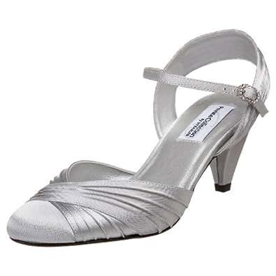 Dyeables Women's Alexis  Sandal,Silver,6 M US