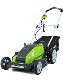 GreenWorks 25112 13 Amp 21 Inch Corded Lawn Mower