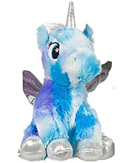 """NEW OFFICIAL 16/""""  SPARKLY CAMILLA THE FLAMINGO WITH RAINBOW BOW SOFT PLUSH TOY"""