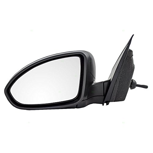 Drivers Manual Remote Side View Mirror Textured Replacement for Chevrolet Cruze & Cruze Limited 95464912
