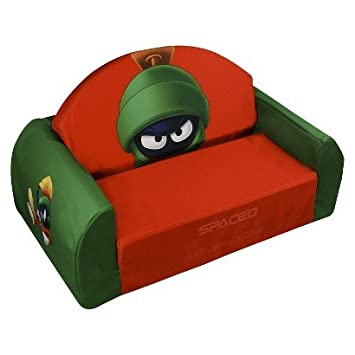 Magical Harmony Kids Flip Sofa   Marvin The Martian   Multicolor   Sofa Bed  For Kids