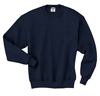 JERZEES SUPER SWEATS - Crewneck Sweatshirt. 4662M - True Navy_S