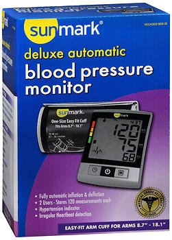 Sunmark Deluxe Automatic Blood Pressure Monitor - Each (Deluxe Automatic Blood Pressure Monitor)