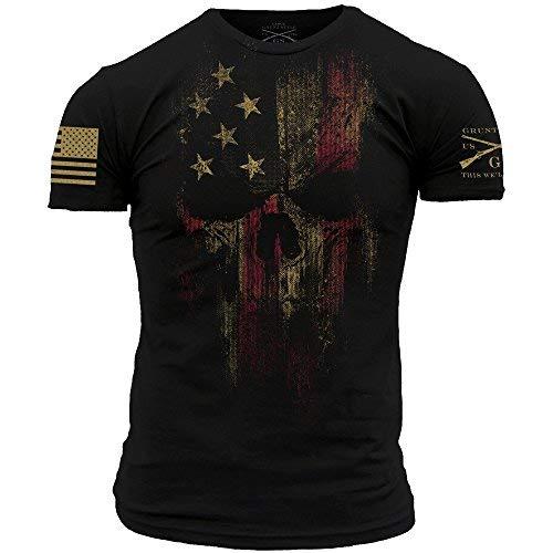 Grunt Style American Reaper 20 Men#039s TShirt Color Black Size XLarge