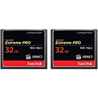 2-Pack of Sandisk Extreme PRO CompactFlash 32GB Memory...