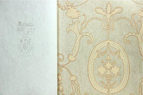 REAGONE No tejidas Non-Woven Wallpaper, papel tapiz, tapiz de alta imitación bordado artesanal, estilo europeo estilo pastoral Wallpaper,Lx3524,53 * 1000