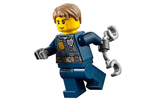 (LEGO City MiniFigure: Police - Undercover Chase McCain (Dark Blue Uniform w/ Handcuffs))