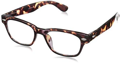 Peepers Men's Clark Retro Reading Glasses, Tortoise, 3.25 from Peepers