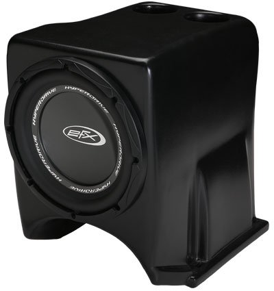 "SSV Works 2004 - 2007 Yamaha Rhino Center Console Subwoofer Enclosure INCLUDES 10"" Speaker"