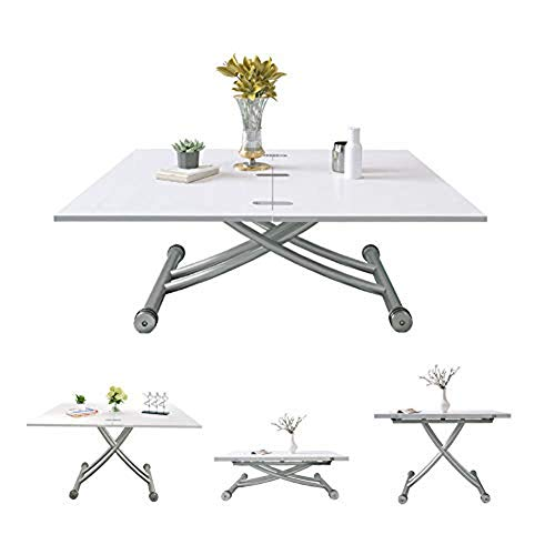 Mesa de centro multifuncional Jesfuerzdoutlet para comedor, sala de estar moderna y creativa, cocina, muebles de exterior