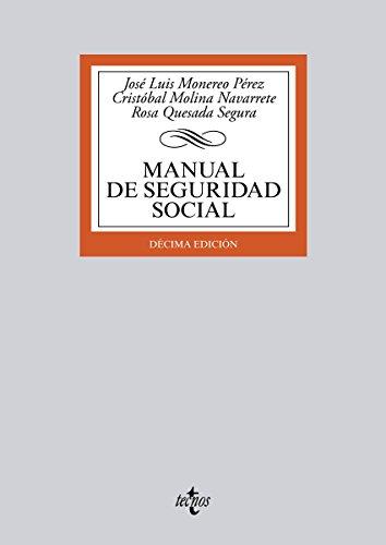 Descargar Libro Manual De Seguridad Social José Luis Monereo Pérez