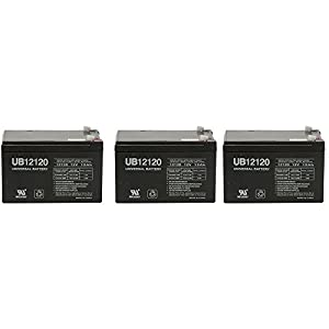 Replacement Battery for Razor MX500 MX 500 650 MX650 Dirt Rocket Scooter - 3 Pack