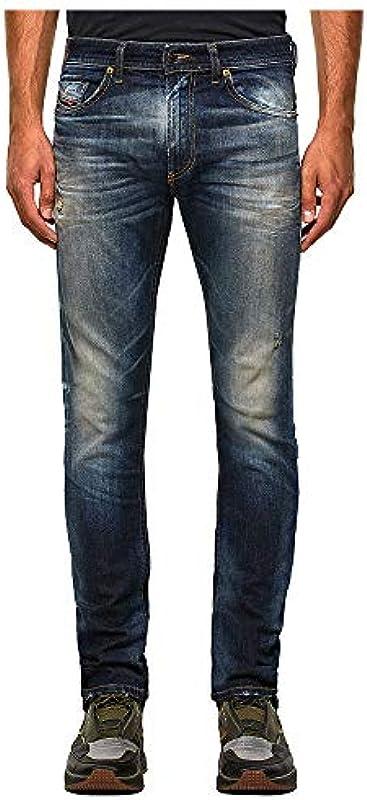 Diesel Thommer-X L.32 Pantaloni dżinsy męskie, 01 Blue Denim, 30: Odzież