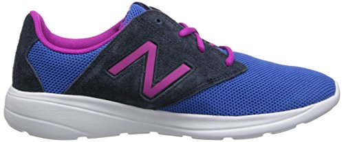 New Balance Classic Traditionnel Blue Womens Trainers Blue