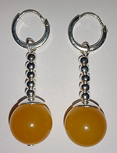 Yellow Jade Potara Earrings – Dragon Ball Z Anime Cosplay Costume Accessories by TamaShop