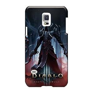 LeoSwiech Samsung Galaxy S5 Mini Durable Hard Phone Cover Customized Fashion Diablo 3 Reaper Of Souls Image [CvF13346pQod]