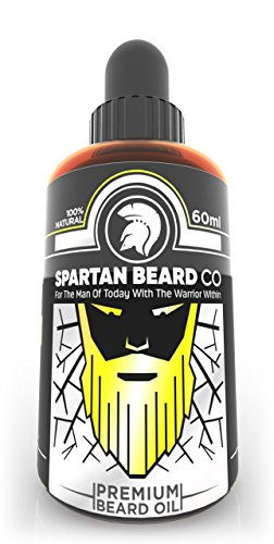 Spartan Beard co - Beard Growth Oil | Premium Facial Hair Accelerator Serum | Powerful Beard & Hair Growth Formula | Natural Beard Care | Hair Growth Oil with Extra Biotin