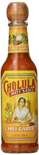 Cholula Chili Garlic Hot Sauce, 5 Ounce each - 6 per case