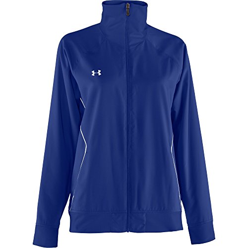 Under Armour Women's PreGame Woven Full-Zip Warm Up Jacket (X-Large)