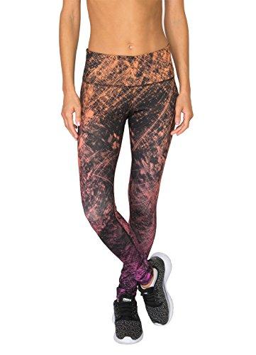 RBX Active Women's Ombre Splatter Printed Legging Warm Combo L