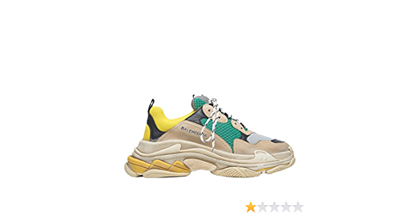 Trainers Fashion Sneakers Yellow