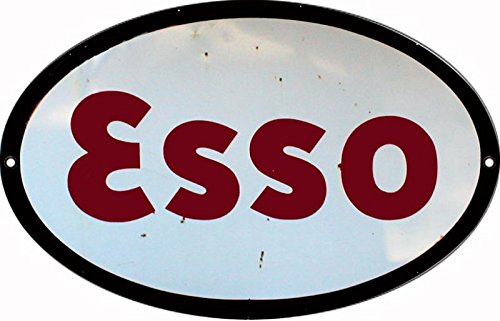 Reproduction ESSO Motor Oil Sign 9x14