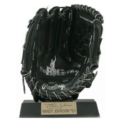 Johnson Mlb Baseball (Rawlings Genuine Leather MLB Baseball Mini Mitt Randy Johnson Number 51)