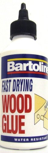 250ML FAST DRYING WATER RESISTANT CLEAR WOOD GLUE Bartoline