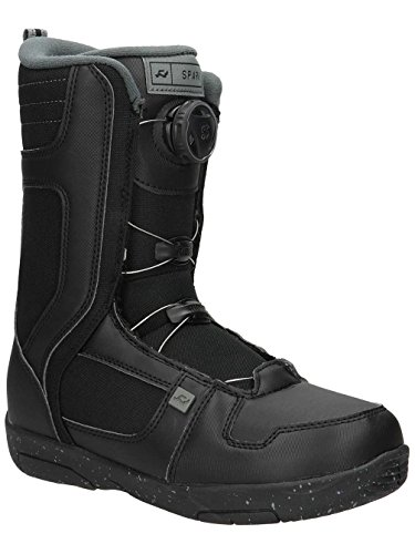 Ride Kids Snowboard Boots (Ride Spark Boa Kids Snowboard Boots 2018 - 5.0/Black)
