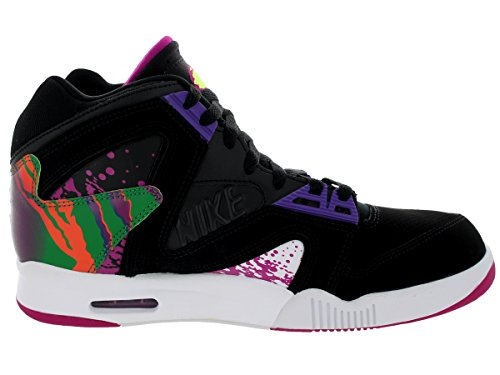 Zapatillas De Tenis Nike Air Tech Challenge Hybird Qs Black / Rave Pink / Varsity Purple / Blanco