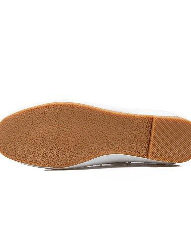 mujer Oxfords uk6 sintética Casual eu39 cn39 White plano zapatos talón white Mary Jane PDX de us8 piel de vtXwxXaqC