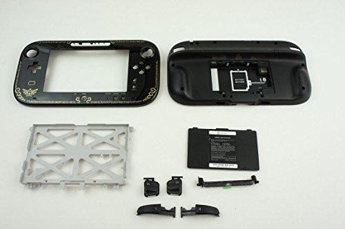 (Nintendo Wii U Legend of ZELDA Gamepad Controller Replacement Faceplate Shell)