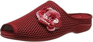 Florett Paula, Damen Pantoffeln, Rot (01/rot), 38 EU