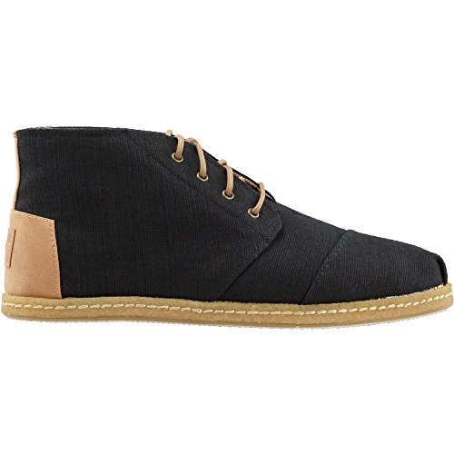 0d312c755d TOMS Men's Bota Black Heritage Canvas On Crepe 10.5 D US by TOMS (Image #