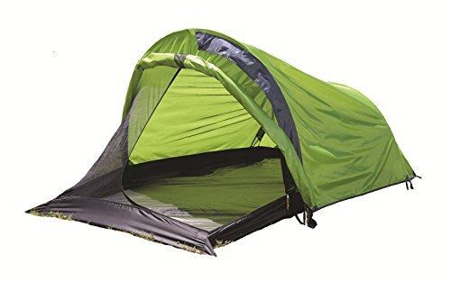 Texsport First Gear Cliff Hanger II Three Season Backpacking Tent, Limeade