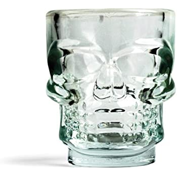 Kikkerland Skull Shot Glasses, Set of 4