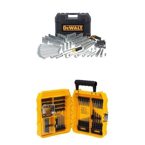 DEWALT 247Pc Mechanics Tool Set + 80-Piece Professional Drilling/Driving Set $173 **Today Only**