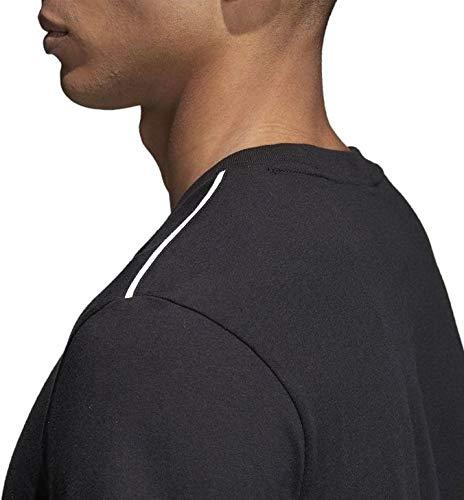 Nero shirt T bianco tè da Core18 Adidas npnTRXz