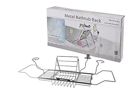 Vasca Da Bagno Grandezza : Appoggio per vasca da bagno estensibile in metallo cromato con