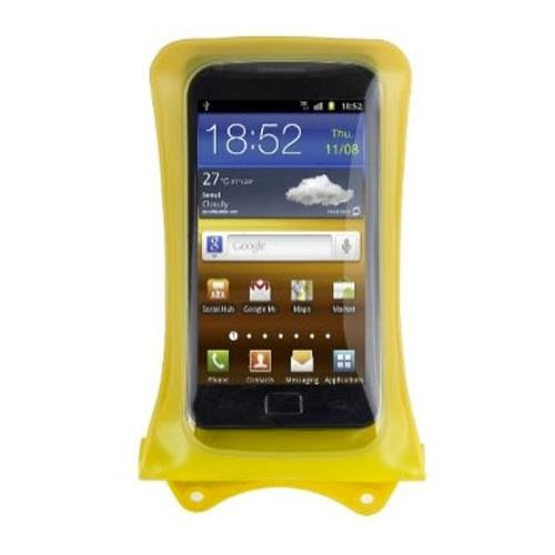 DiCAPac WP-C1 Yellow Premium Series Waterproof Case for Smartphones up to 5.1-Inches