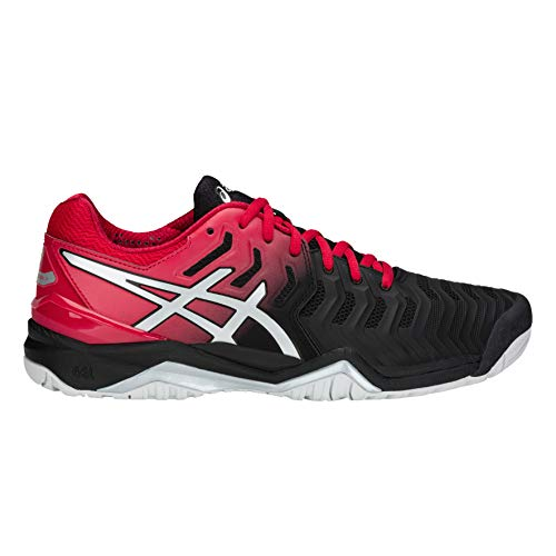 Gel Uomo argent Noir Asics Tennis Scarpe 7 resolution Da SUcpF