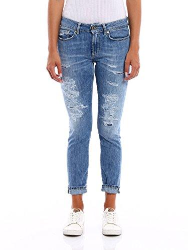 DONDUP Coton Bleu Jeans P692DS107DP52PDH800 Femme rAtwxqTErn