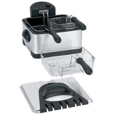 Maxam® 4-Quart Electric Deep Fryer