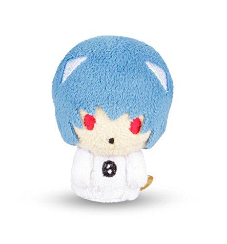 Evangelion Mini Figure - Evangelion Mini Plush - Loot Crate (Rei Variant)
