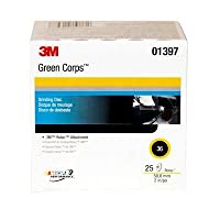 3M (264F) Disc, 01397, 2 in, 36YF, 25 discs per box [You are purchasing the Min order quantity which is 1 Box] by Green Corps