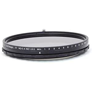 SLR Magic 77mm MK II Variable Neutral Density (ND) Filter - 0.4 to 1.8 (2.3 to 6 Stops)