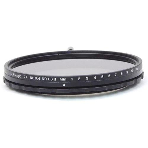 SLR Magic 77mm MK II Variable Neutral Density (ND) Filter - 0.4 to 1.8 (2.3 to 6 stops) by SLR Magic