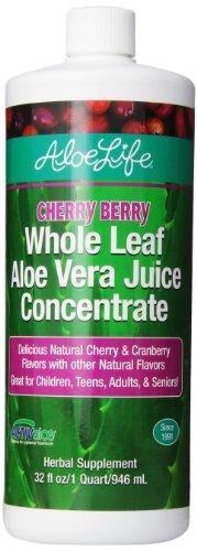 Aloe vie suppléments nutritionnels, Cherry Berry, 32 onces