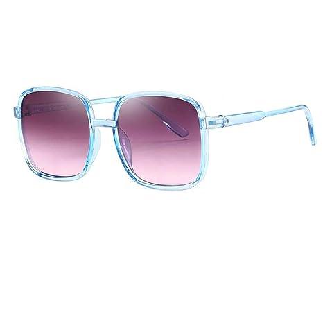 Lorjoyx Marco Cuadrado Unisex Gafas de Sol Hombres Mujeres ...